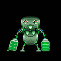 nucler robot by kono