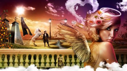 Guardian Angel by belez