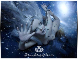 Astral Fairy #90 OOAK Sculpture Art by bornbrightdolls