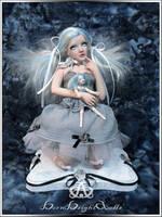 Dear Dolly Kawaii Girl #95 OOAK Sculpture by bornbrightdolls