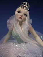 Princess Porcelana OOAK Sculpture by bornbrightdolls