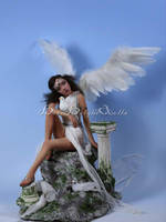 Grecian Goddess Angel OOAK Sculpture by bornbrightdolls