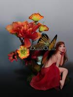 Juliette Spring Butterfly Fairy by bornbrightdolls