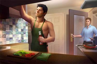 Someone's in the Kitchen by NaSyu