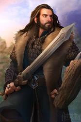 Thorin Oakenshield by NaSyu