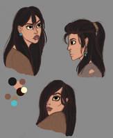 Lavinia sketches by RaidioactiveVampy