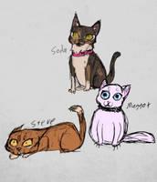the cats by RaidioactiveVampy