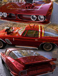 Muscle Car available on the Daz store by Serum3D