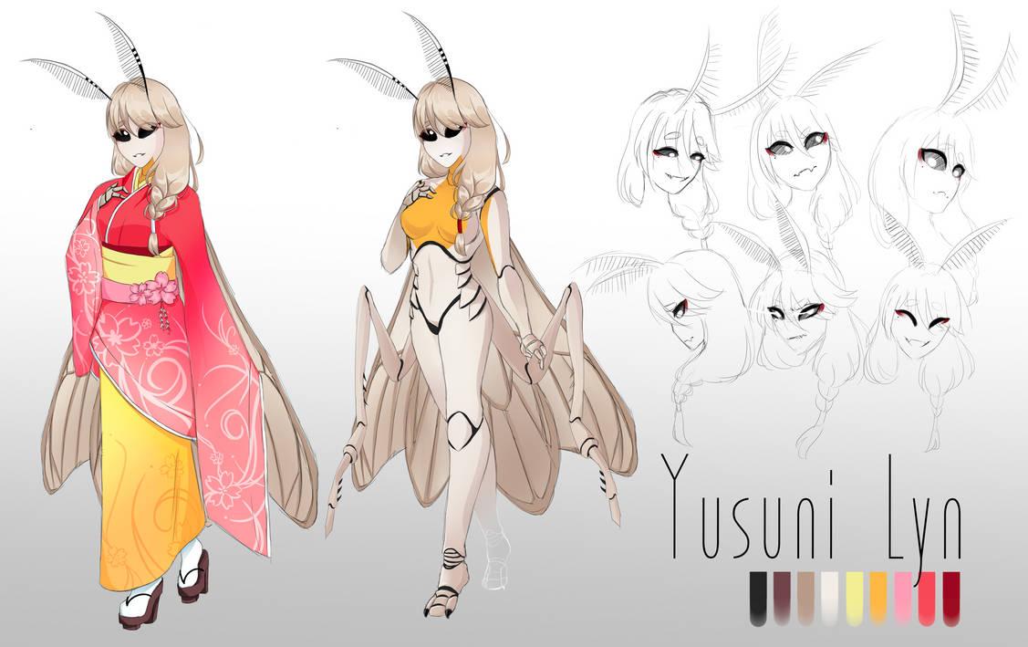 (OC) Yusuni Lyn by TheBrianPeedsAwesome