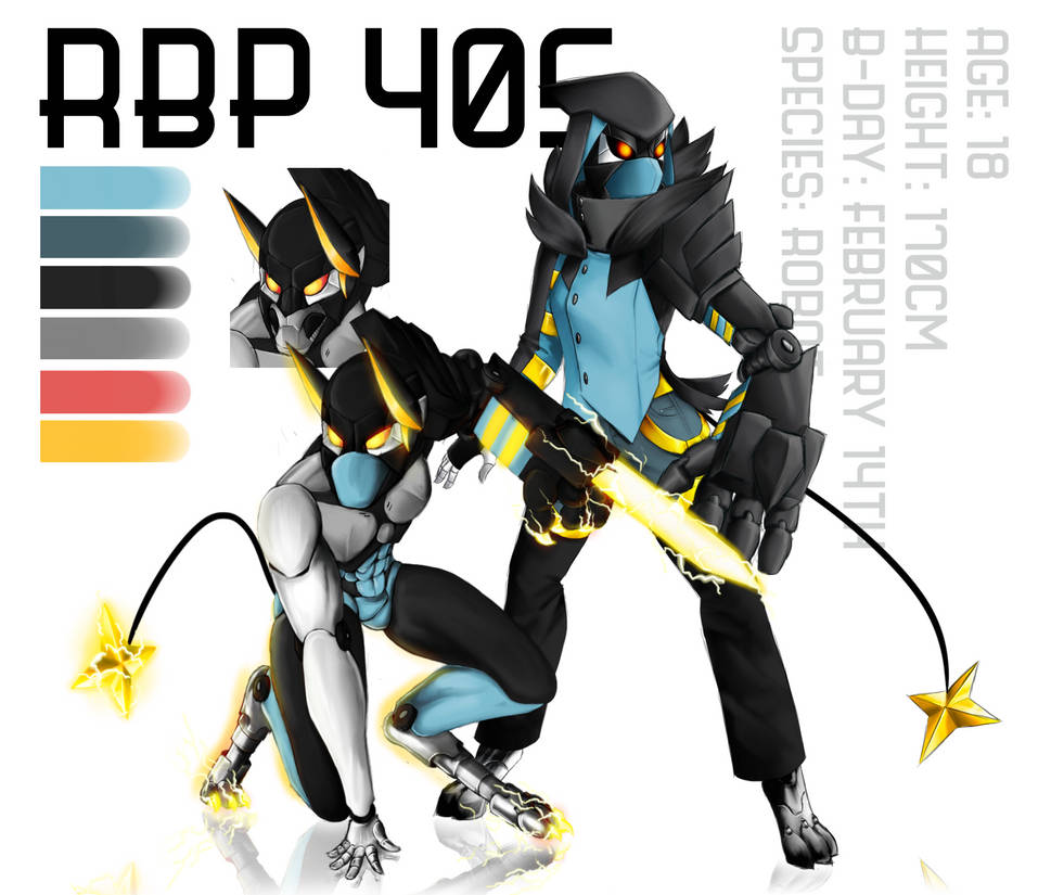 (OC Rework) R.B.P-405 by TheBrianPeedsAwesome