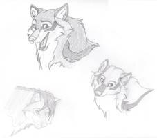 Wolf - Silvers, Jack by Koeyohte