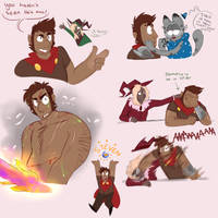 magnus burnsides is a national treasure by Lucabyte