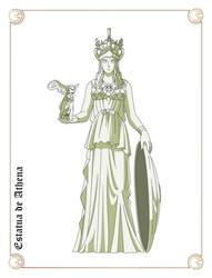 Estatua de Athena by Javiiit0