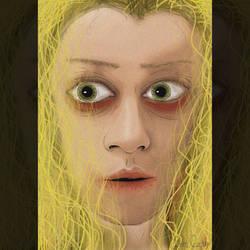 Helena (Tatiana Maslany) Digital Cartoon Art by emreozturk17