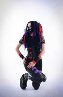 cybergoth IV by mysteria-violent