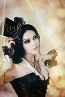 Steampunk lady by mysteria-violent