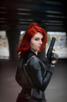 Natasha Romanoff by mysteria-violent