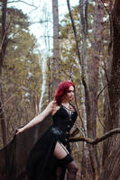 Forest witch by mysteria-violent