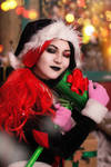 Harley Quinn Holiday Special cosplay by mysteria-violent