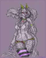 Hoodie monster by Blattaphile