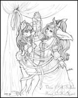Ribbon Dancing by Blattaphile