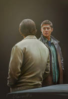 Sam and Dean by Blakravell