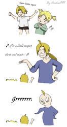 Ed is not a little teapot :D by Dudess999
