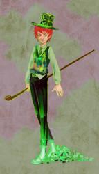 St.Patrick by Desaturateful