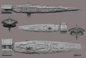 Battlecruiser by jgranite