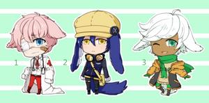 random kemonomimi adopts (1 left) by tetracyan