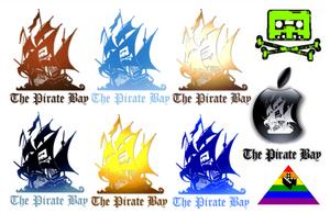 THE PIRATE BAY - LOGOS by matmohair1