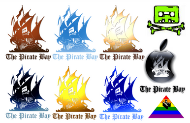 THE PIRATE BAY - LOGOS by matmohair1