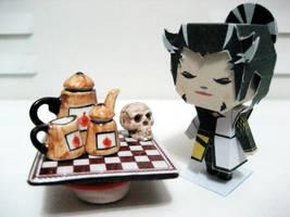 Tea with Nobunaga by smilerobinson