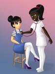 COM Bianca and Vanessa by TigersSunshyn