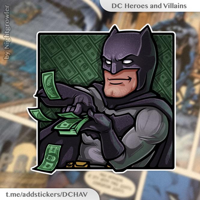 True superpower of Batman by nightgrowler