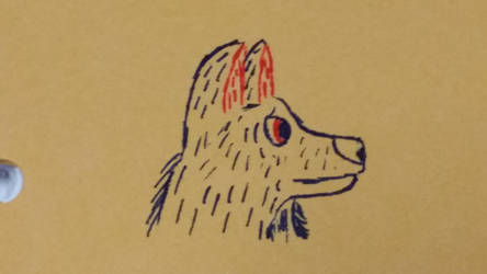Wolf in Ink by Wolfsketch101