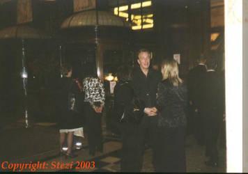Alan Rickman in Savoy Hotel by JanuaryGuest