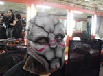 Turian's latex mask (another view) by Deakath