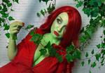 Arkham Poison Ivy Cosplay by poisonsiren