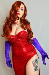 Jessica Rabbit Cosplay by poisonsiren