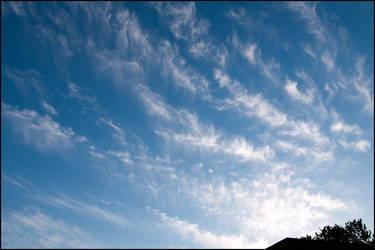 Feathery Clouds by fuddyduddy
