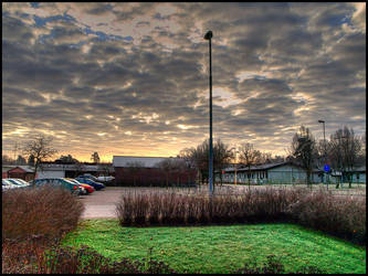 Winter Sky by fuddyduddy