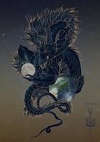 Eastern dragon by IrunMerkulova