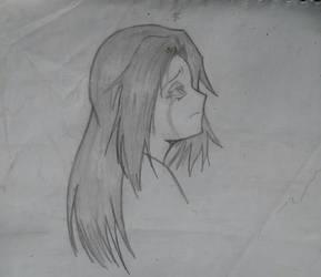 Sad girl by ZehFarofa