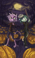 Dream Keepers Halloween by lizspit