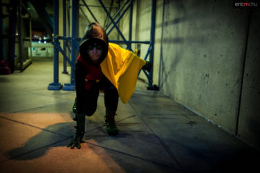 Night Watch - Damian Wayne by Love-Joker