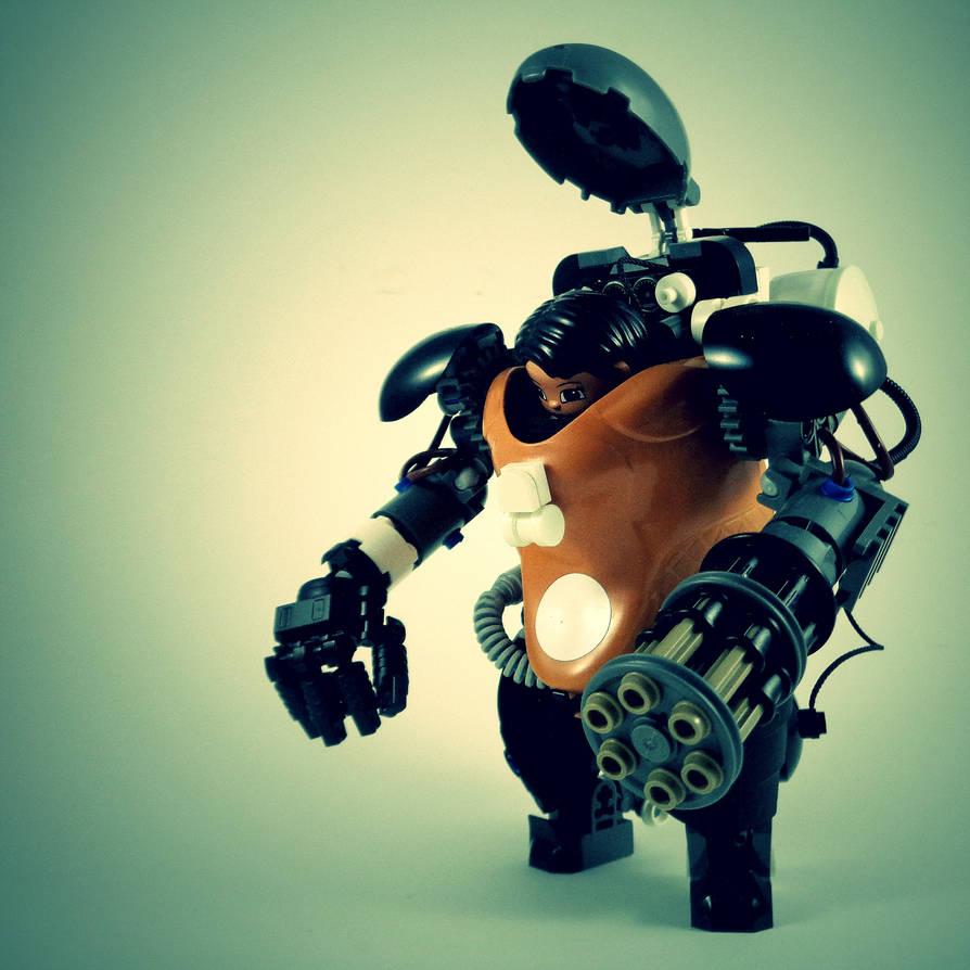 Mercenary Mechsuit Prototype X [MA.K Adv. Des.] by marcomarozzi