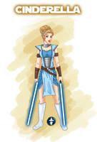 Jedi Disney Princess Cinderella by White-Magician