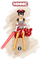 Jedi Disney Princess Minnie by White-Magician