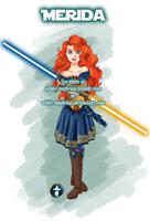 Jedi Disney Princess Merida by White-Magician